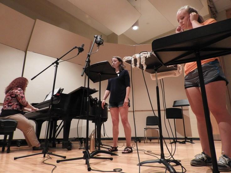 Kira recording session 060