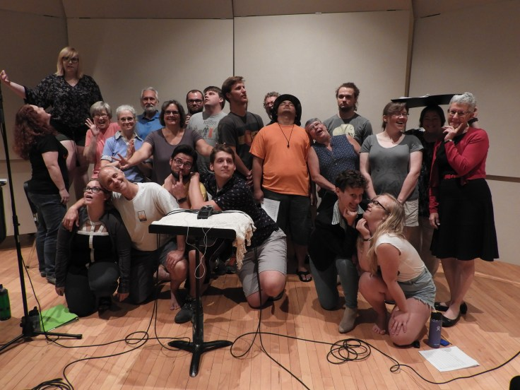 Summer 2017 Recording Chorus (silly shot)