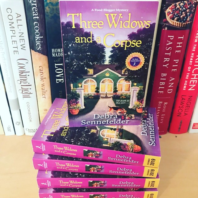 Three Widows and A Corpse book one in the Food Blogger Mystery Series