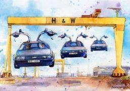 DeLoreans Back to Belfast Debra Wenlock e1509185458236