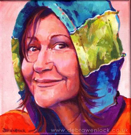 Naomi Portrait by Debra Wenlock