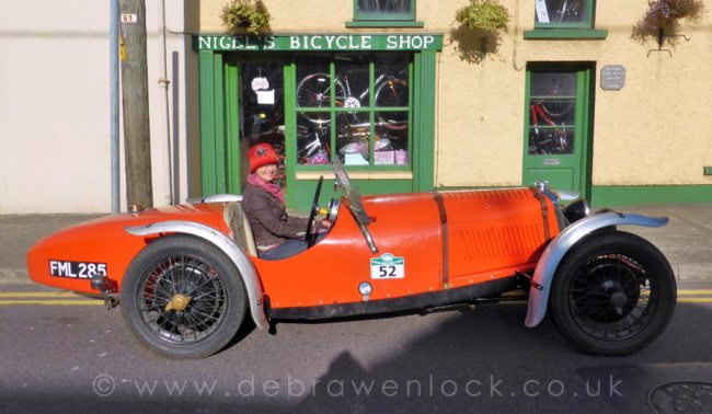 Riley TT Sprite in Bantry with Debra Wenlock