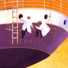 Painting the Titanic by Debra Wenlock