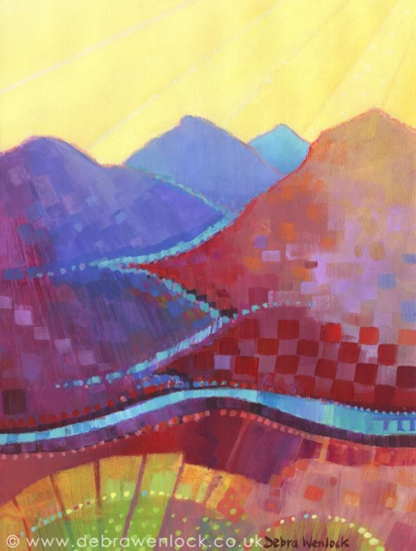 Connemara Sunburst by Debra Wenlock