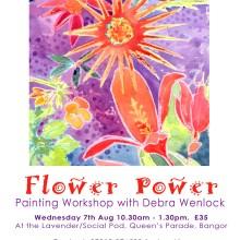 'Flower Power' Painting Workshop