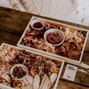 Ontbijt aan huis - Charcuterieplank - The Butcher's Plank & 2.0 - De BRKFSTCLUB - Combi