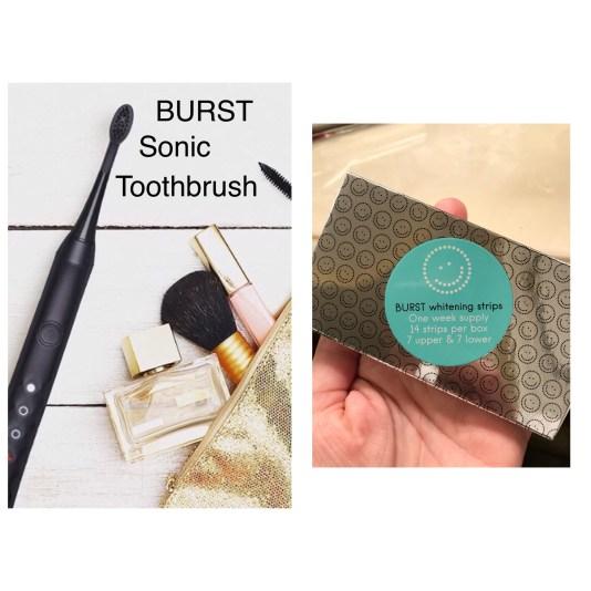 Burst Promo code NWFSTP for Burst Sonic Toothbrush & Whitestrips