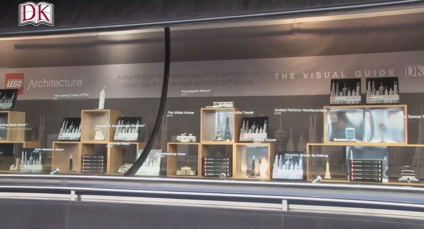 vitrine lego architecture a la