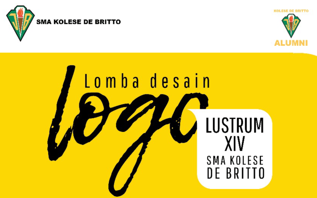 Lomba Design Logo Lustrum XIV SMA Kolese De Britto