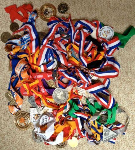 MedalsMilesPile