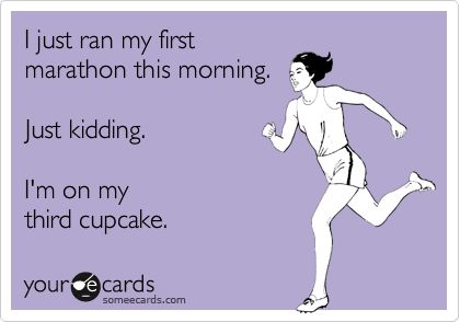FirstMarathonJKAteCupcake