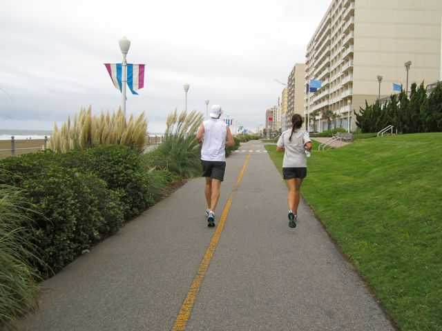 Cruisers Destination Run on the Virginia Beach Boardwalk - Deb Runs