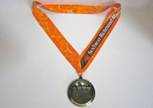 RichmondMarathonMedal