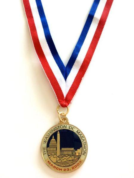 Washington DC Marathon - 2003 race was cancelled four days before the race