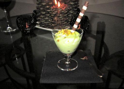 DessertAndCandle
