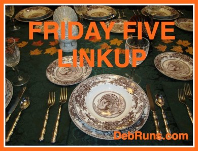 FridayFiveThanksgiving