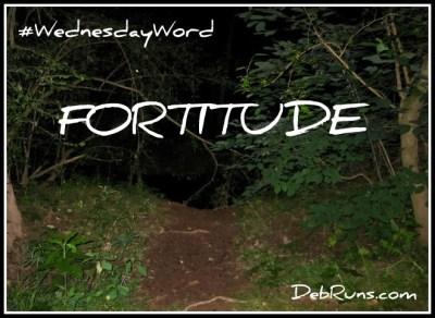 WednesdayWordFortitudePoster
