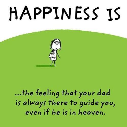 HappinessDadInHeavenPoster