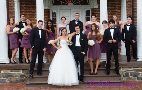 WeddingWeddingPartyAttitudeSignature
