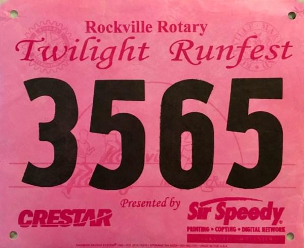 Rockville Rotary Twilight Runfest 8K