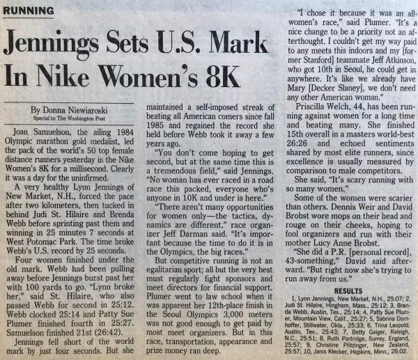 Nike Women's 8K
