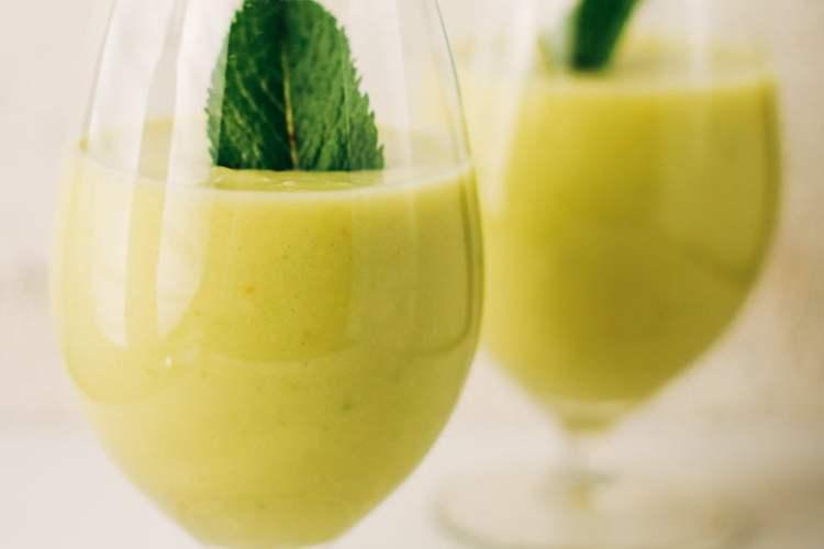 zomerse ananas avocado smoothie