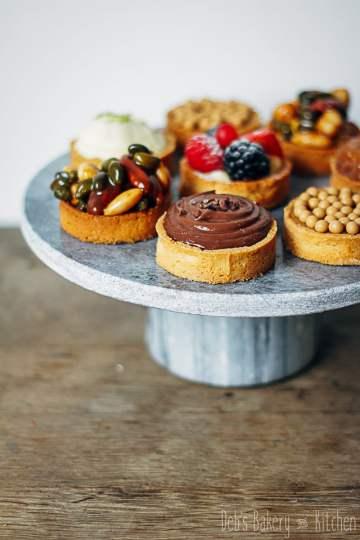 workshop kleine taartjes bij Petit Gateau