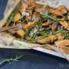zoete aardappel traybake met sardines