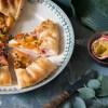 galette met nectarine en passievrucht