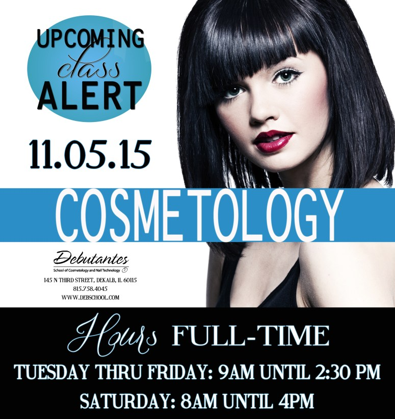 Cosmetology With Hours Full Time 09.01.15 with hours