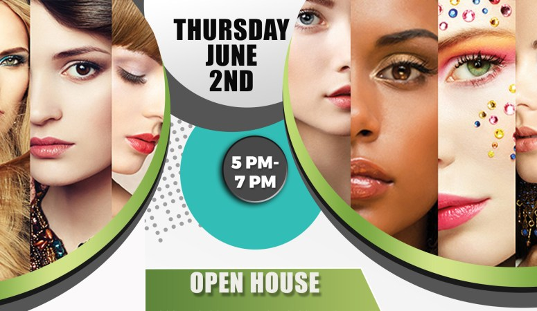 Open House June 2nd for Cosmetology, Esthetics & Nail Technology