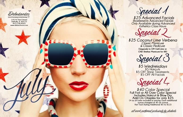 July 2016 Specials