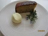 Orange and Rosemary Polenta Cake 004