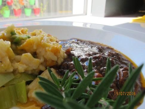 lamb shanks and risotto 006