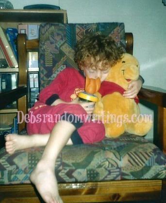Greg's almost eighteen years ago