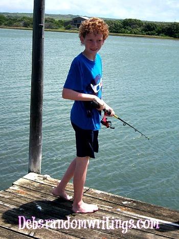 Greg's fishing