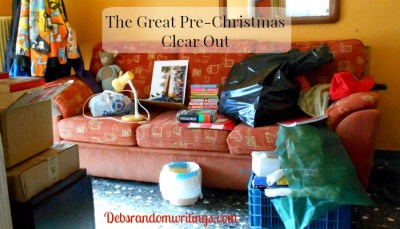 Our Great Christmas Clear Out