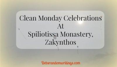Clean Monday At Spiliotissa Monastery, Zakynthos