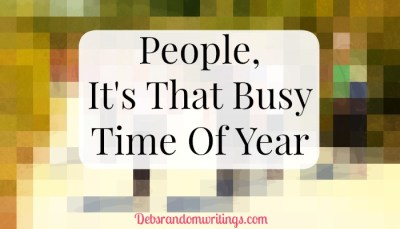 People – It's That Busy Time Of Year