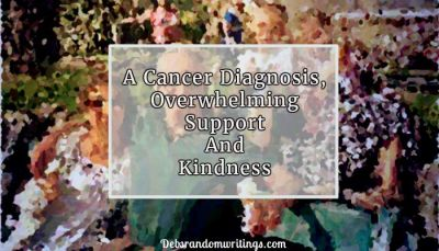 A cancer diagnosis