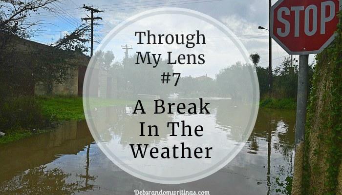 Break in the weather