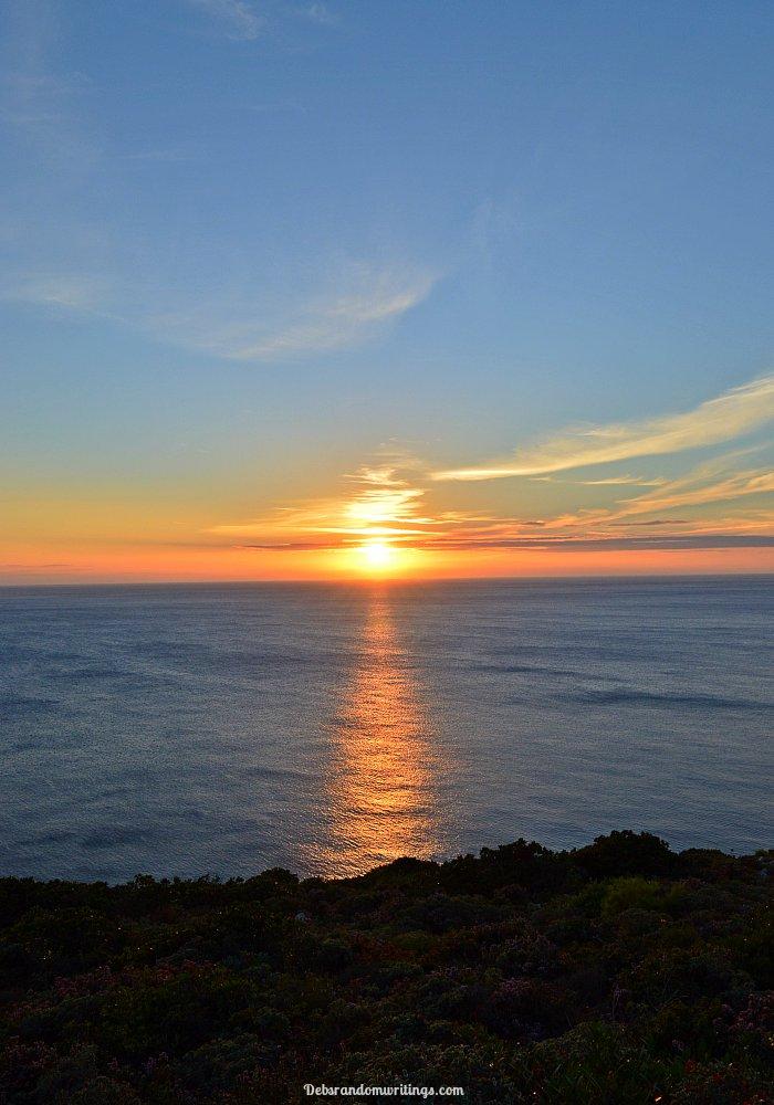 Sunset at Agalas