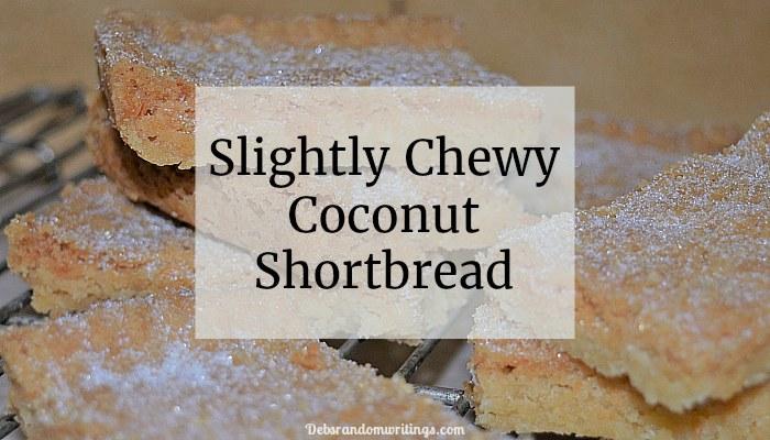 coconut shortbread recipe