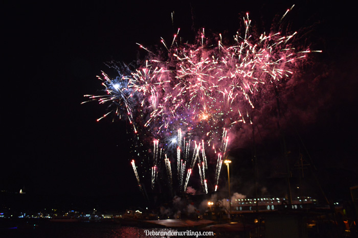 St. Dennis Day firework display