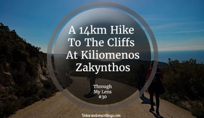 A 14km hike to the cliffs at Kiliomenos on Zakynthos