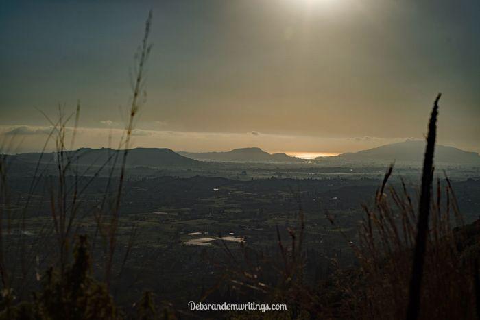 Zakynthos was slightly hazy that morning, but I think it added to the photo.