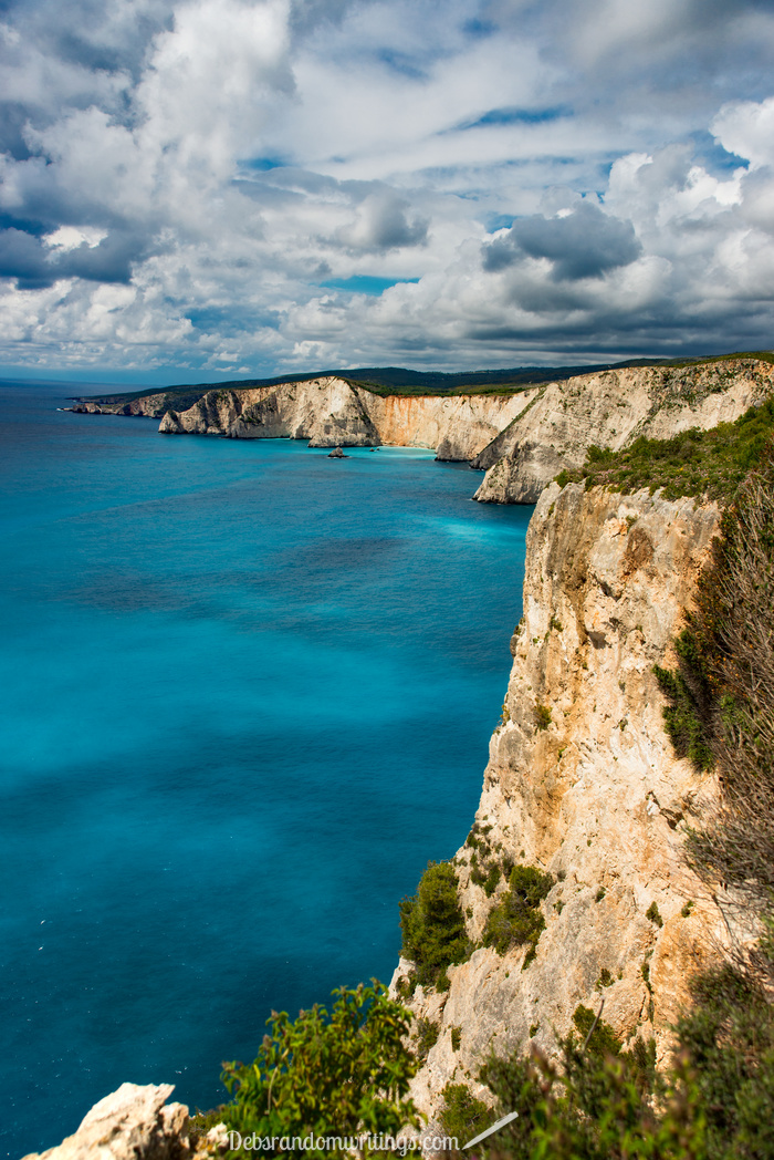 The West side of Zakynthos is rough and rugged and really quite beautiful, don't you think?