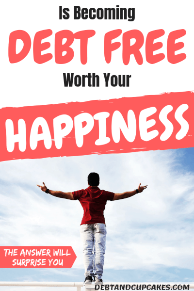 Debt freedom and happiness