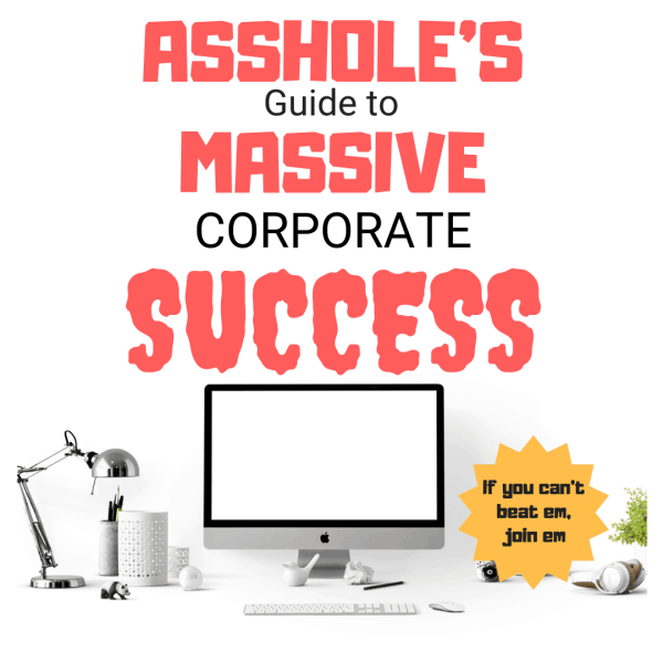 Asshole's guide to massive corporate success