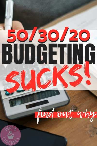 50/30/20 budget is totally wrong